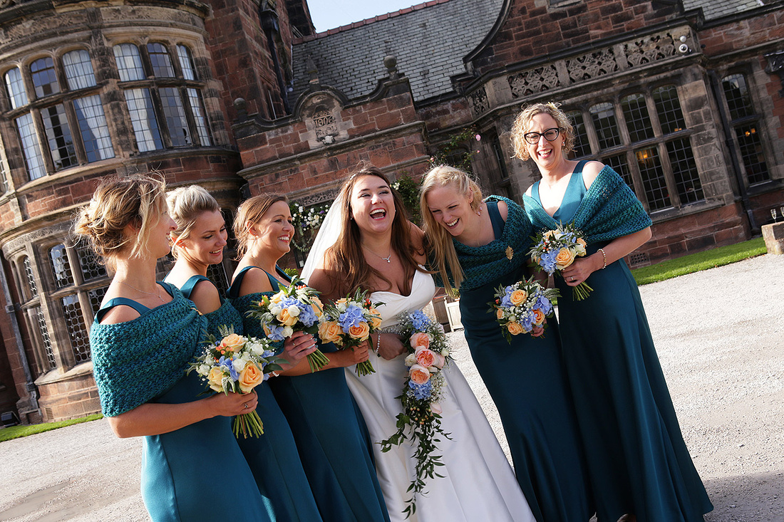 wedding photography at thornton manor on the wirral