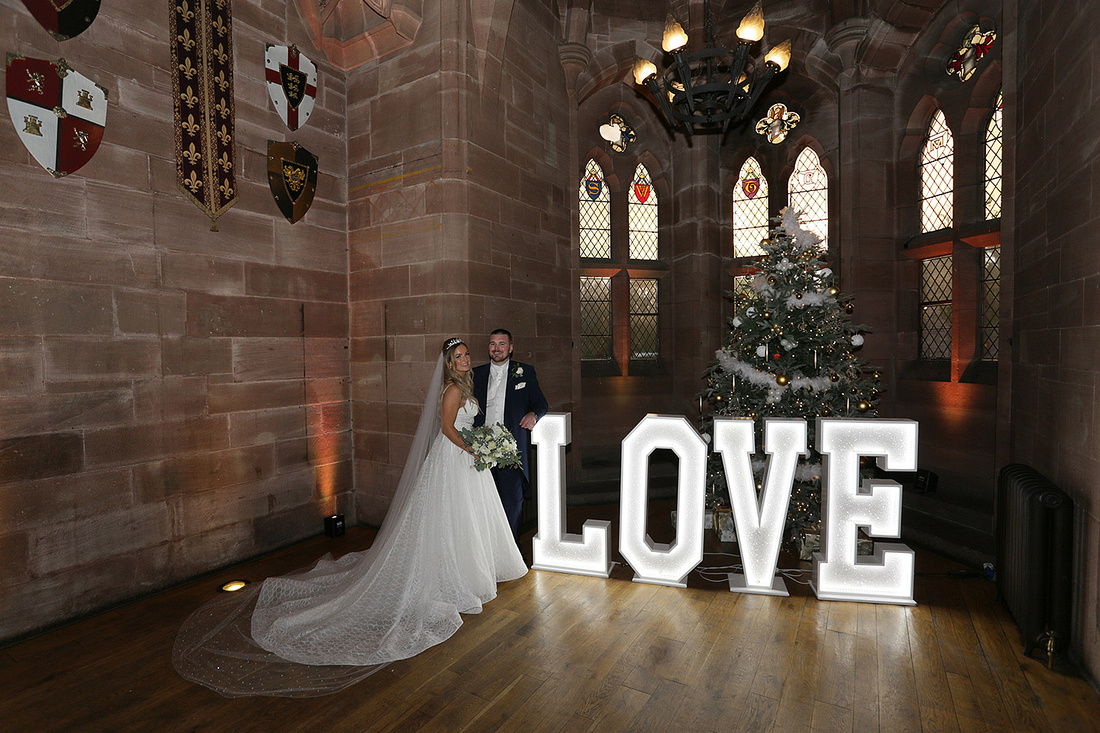 newly married couples photographed by cheshire wedding photographers