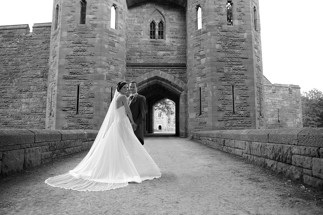 various weddings at peckforton castle in cheshire