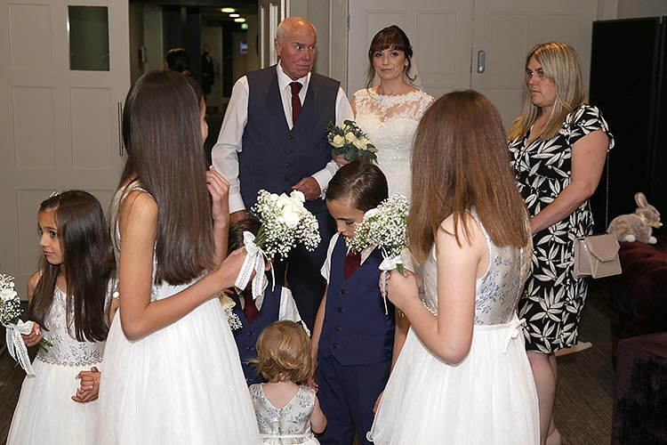 wedding at the mere