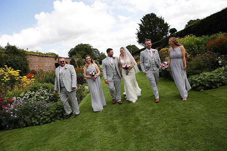 wedding at arley hall cheshire