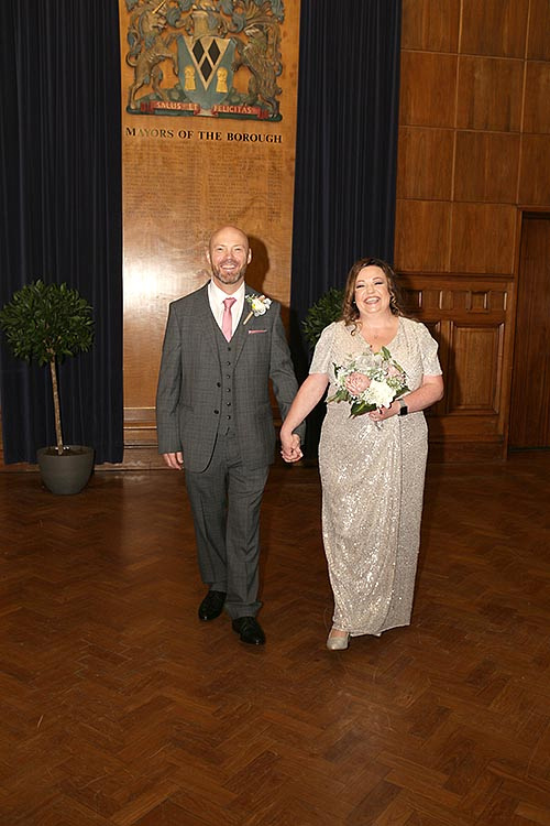 wedding at sale town hall