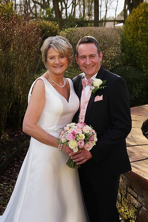Newly weds at Nunsmere Hall