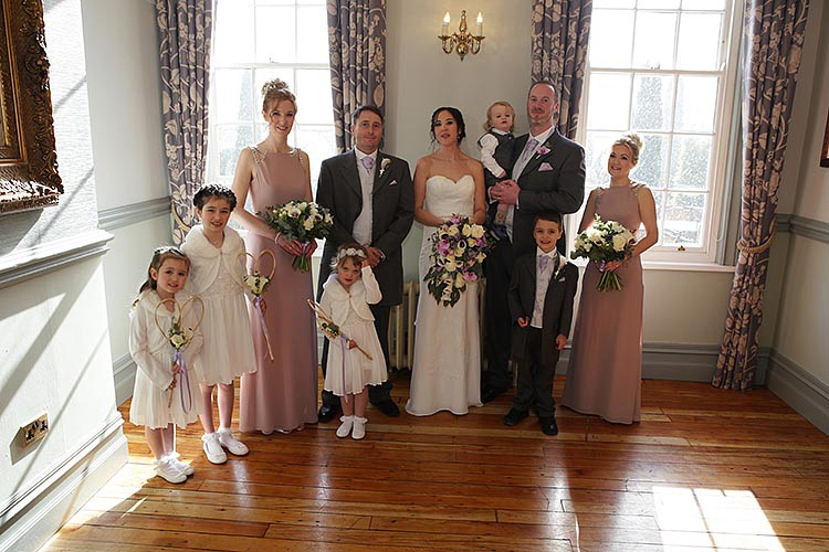 Nunsmere Hall wedding