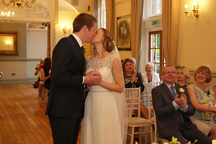 Civil ceremony at Nunsmere Hall